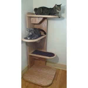 corner cat tree