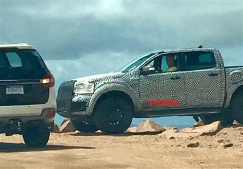 ford ranger raptor front spy  fast lane truck