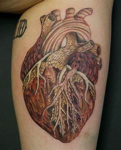 38 Anatomical Heart Tattoos | Amazing Tattoo Ideas