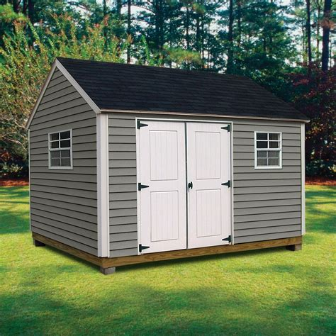 sears sheds 10 x 12 quality outdoor structures v1012sc vinyl cottage 10 ft x