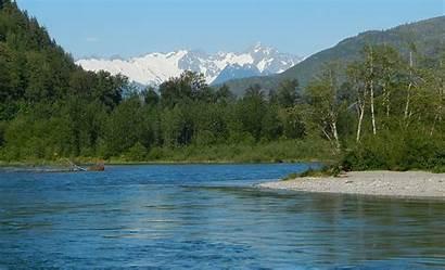 River Skagit Peak Washington
