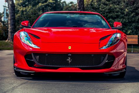 Wallpaper Ferrari 812 Superfast 2017 4k Automotive