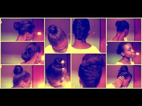 9 Everyday Protective Hairstyles(Relaxed/Texlaxed&Natural