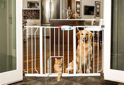pet gates with door how to stop your stealing the happy puppy site