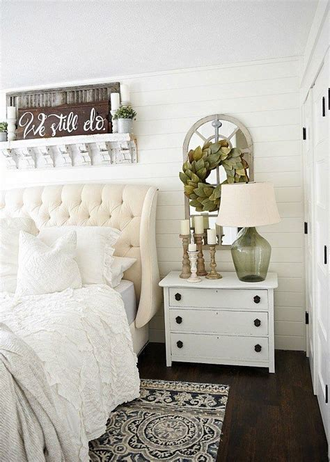 one horn white nightstand makeover cottage style decor