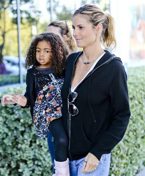 Heidi Klum Little Lou Wear Mother Daughter Animal
