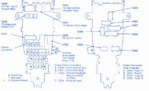 Honda Accord 1992 Fuse Box  Block Circuit Breaker Diagram