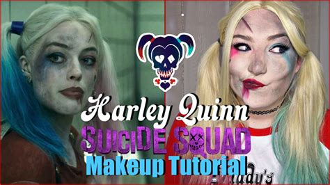 Harley Quinn Beaten Up Suicide Squad Makeup Tutorial