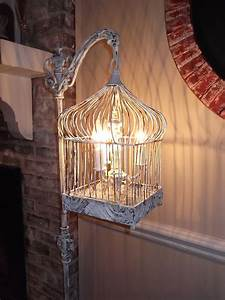 35 amazingly pretty shabby chic bedroom design and decor With birdcage chandelier floor lamp