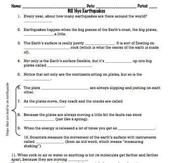 All Worksheets » Free Printable Earthquake Worksheets  Printable Worksheets Guide For Children
