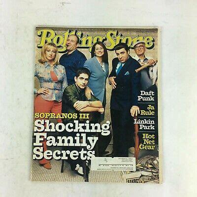 March 2001 Rolling Stone Magazine Shocking Family Secrets ...