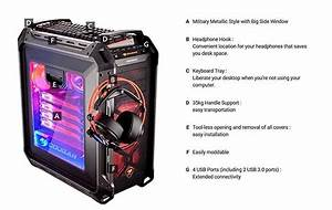Open Box Cougar Panzer Max Ultimate Full Tower Gaming