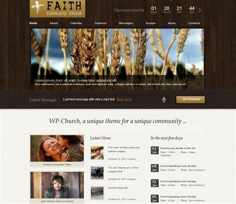 Free Church Themes 10 Free And Premium Church Themes Ginva