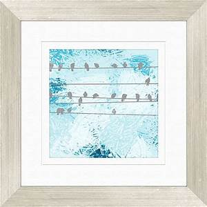 Bird gathering wall decor framed art walmartcom for Walmart wall art