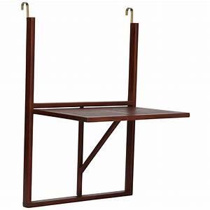 Table De Balcon Rabattable : ultranatura table de balcon table suspendue en bois rabattable gamme canberra jardin ~ Teatrodelosmanantiales.com Idées de Décoration