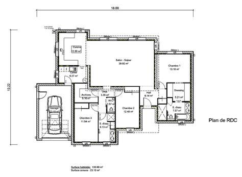 plan de maison moderne toit plat gratuit plan maison toit plat 120m2 meuble oreiller matelas memoire de forme