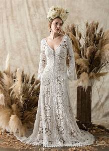 gowns for the laid back bride the etheria collection from With laid back wedding dresses