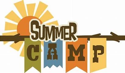 Camp Summer Title Camping Svg Scrapbook Svgs