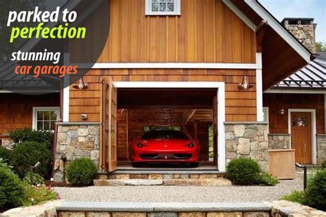 parked  perfection stunning car garage designs