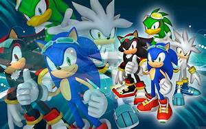Sonic, Shadow, Silver And Jet - SFR - Wallpaper by ...