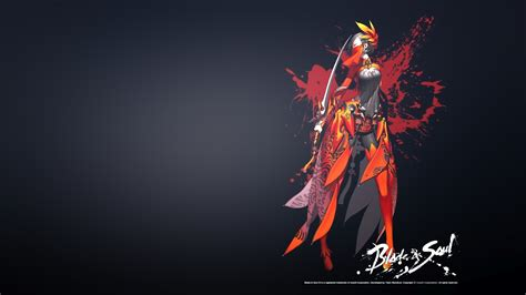 Blade And Soul Anime Wallpaper - just walls blade and soul wallpaper 블레이드 앤 소울