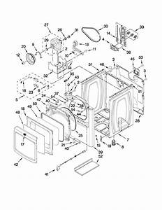 Cabinet Parts Diagram  U0026 Parts List For Model Medb850wq0