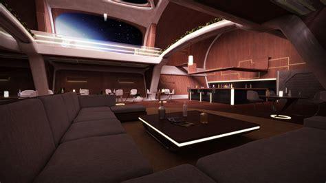 cabin designs 3d workshop luxurious spaceship interior by stormxf3 on