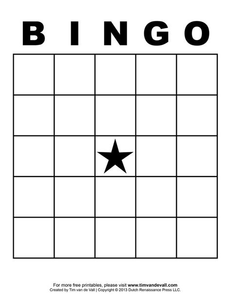 free printable blank bingo cards template 4 4
