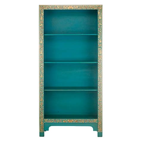 hallway bookcase turquoise movable shelf organizer target turquoise painted bookshelf interior