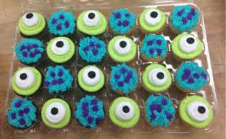 monsters inc cake toppers celebrate monsters with cake and cupcakes