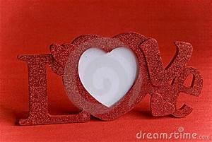 Love Word Frame Stock Photo