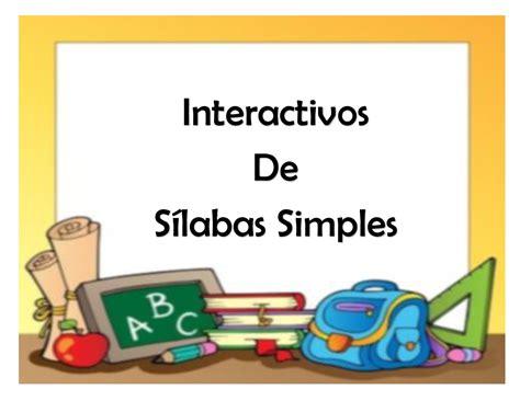 Personaliza estas plantillas para preescolar y haz presentaciones en google slides y powerpoint para los más pequeños de la casa gratis fáciles de editar profesionales Material interactivo para trabajar las sílabas para preescolar y primaria -Orientacion Andujar