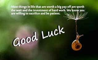 Good Luck Best Wishes Messages