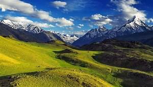 India Scenery Mountains Himalayas Clouds Nature wallpaper ...