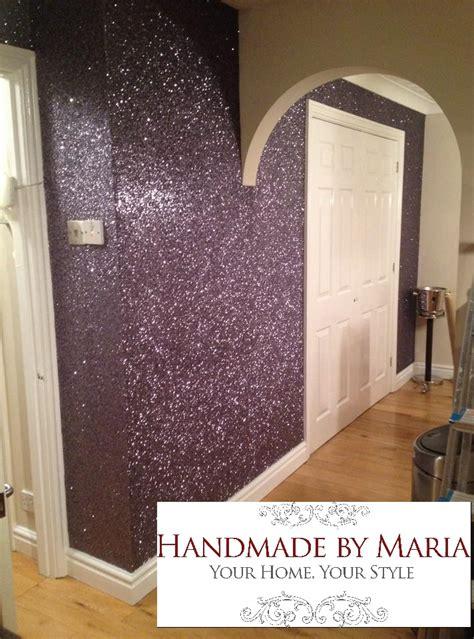 glitter wallpaper handmade  maria