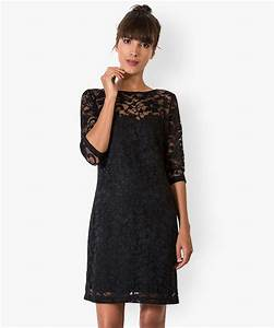robe noire en dentelle gemo With robes dentelles