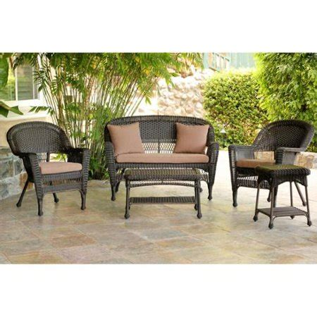 Resin Loveseat Patio Furniture by 5 Espresso Resin Wicker Patio Chair Loveseat
