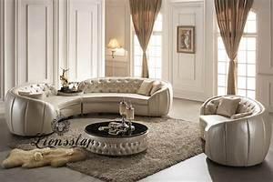 Barock Sofa Weiß : luxus sofa rund lionsstar gmbh ~ Frokenaadalensverden.com Haus und Dekorationen