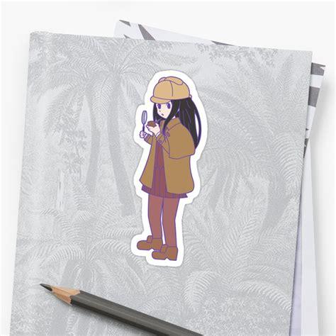 chitanda eru sticker by thebestotaku redbubble
