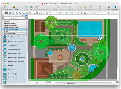 landscape layout software garden design cad interior design