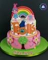 Torta Trolls | Idee per feste, Festa, Compleanno