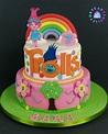 Torta Trolls   Idee per feste, Festa, Compleanno