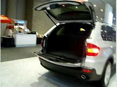 Auto Show BMW X5 Power Liftgate YouTube
