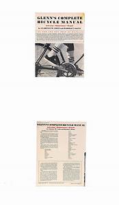 1973 Glenn U0026 39 S Bicycle Repair Manual Tune Up Guide Shop
