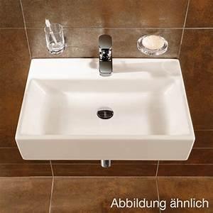 Waschtisch Villeroy Boch : villeroy boch memento waschtisch b 50 t 42 cm 51335001 ~ Frokenaadalensverden.com Haus und Dekorationen