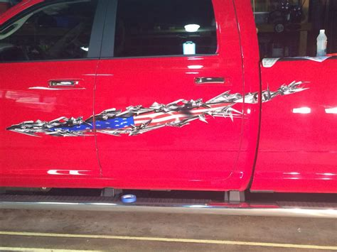 american flag truck decals usa tear auto decal american