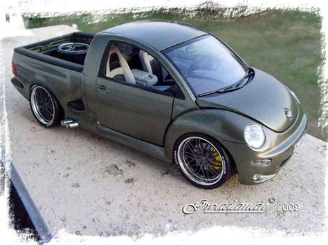 volkswagen bug truck volkswagen new beetle pick up burago diecast model car 1