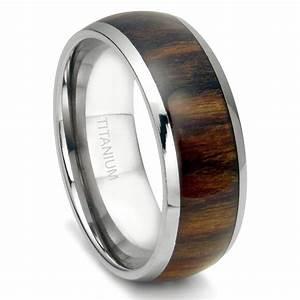 2018 Popular Wood Grain Men39s Wedding Bands