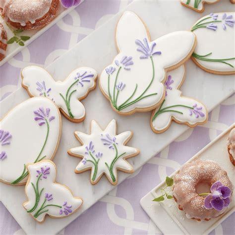 blooming easter cookies wilton
