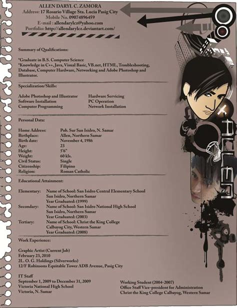 When Will Anime Resume by 54 Impressive And Well Designed Resume Exles For